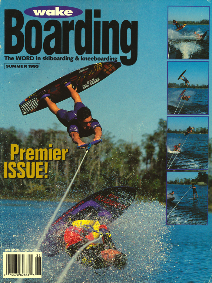 140805 1993 1st Wakeboarding Magazine Cover Shapiro Jennings