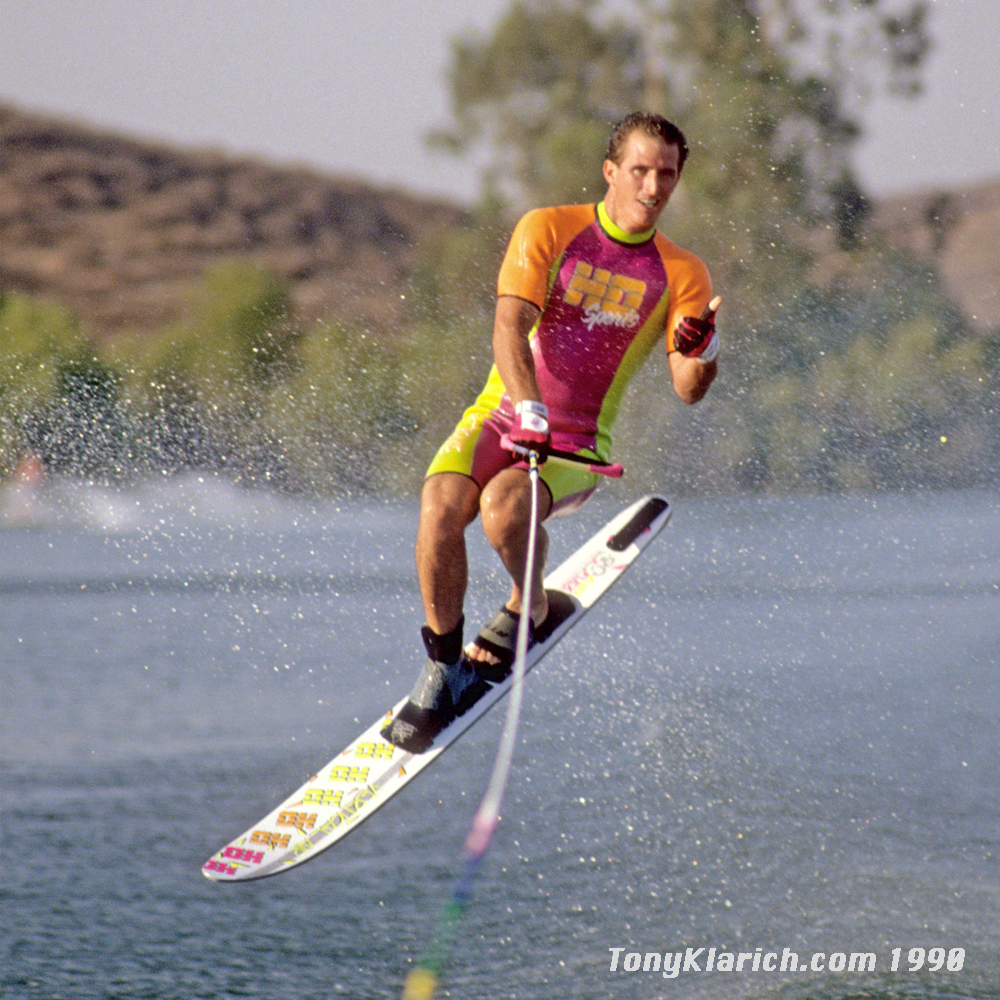1990-hot-d0g-slalom-ski-tony-klarich-vertical-air-jump