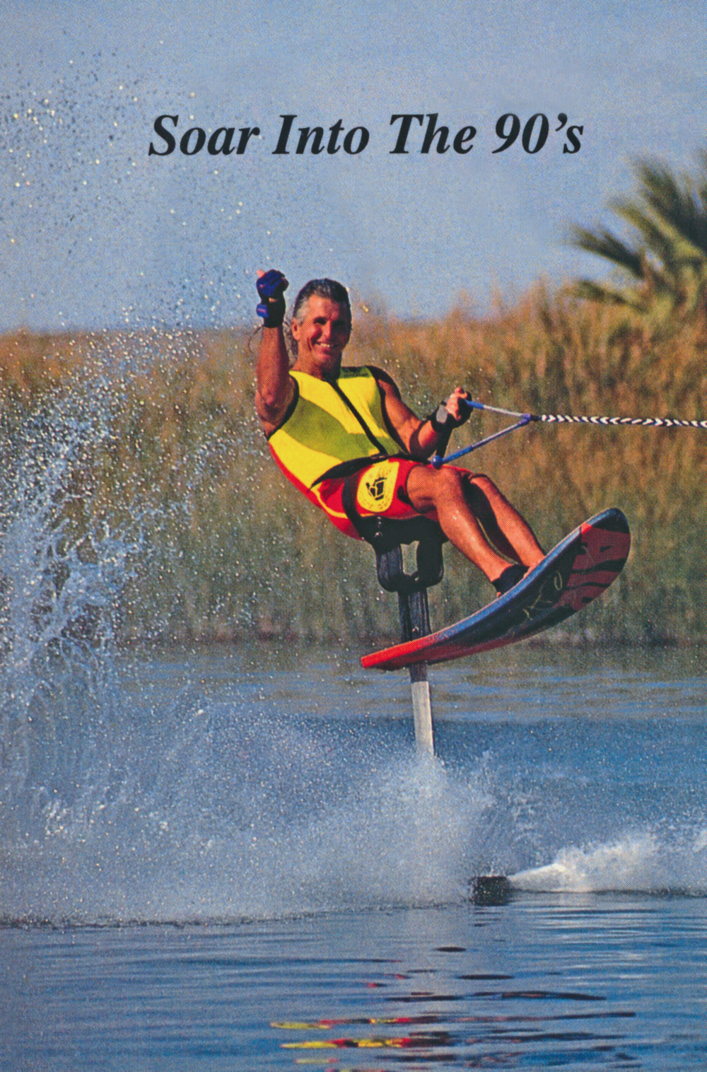 a water skier s life adventures in water skiing hydrofoiling you