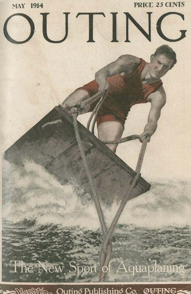 aquaplane history water skiing