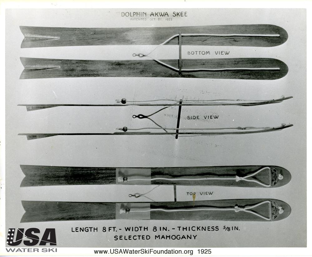 fred waller akwa skis water skiing history