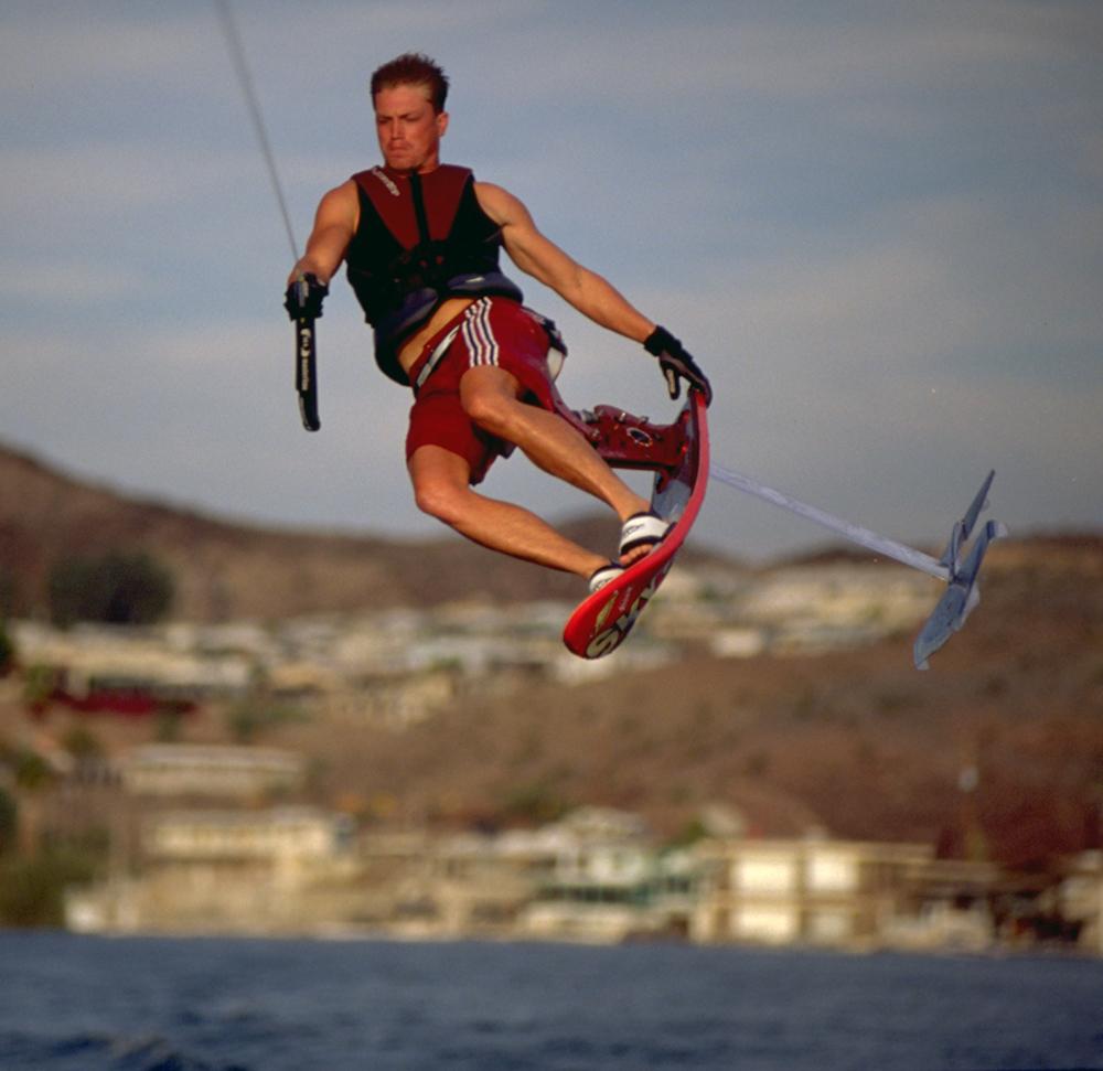 damon moore sky ski hydrofoil tail grab flip