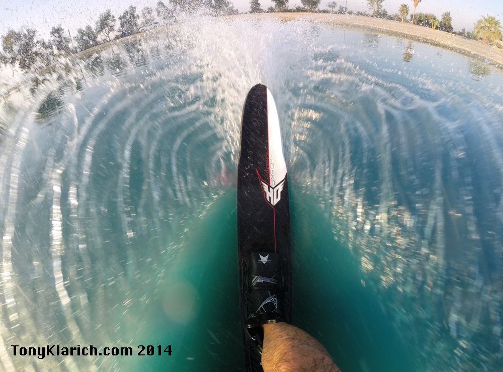 HO Freeride GoPro tips for water skiing