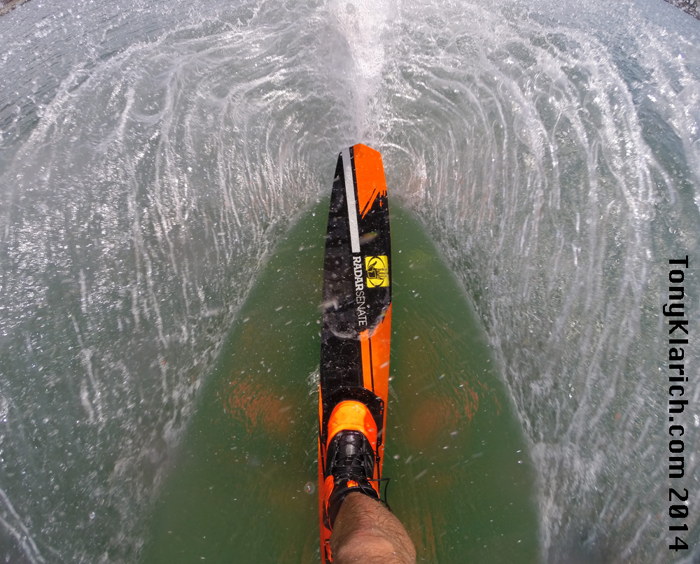 Radar Water Skis - How to get this epic GoPro photo