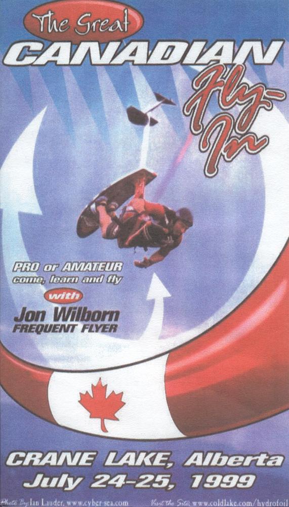 Canadian Fly-in Jon Wilborn sky ski hydrofoil ian lauder