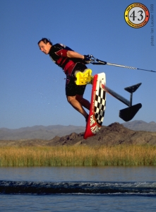 Sky Ski Hydrofoil by Mike Murphy. 360 Helicopter Water Ski Tony Klarich