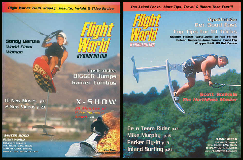sandy bertha scott honkala flight worlds hydrofoiling covers
