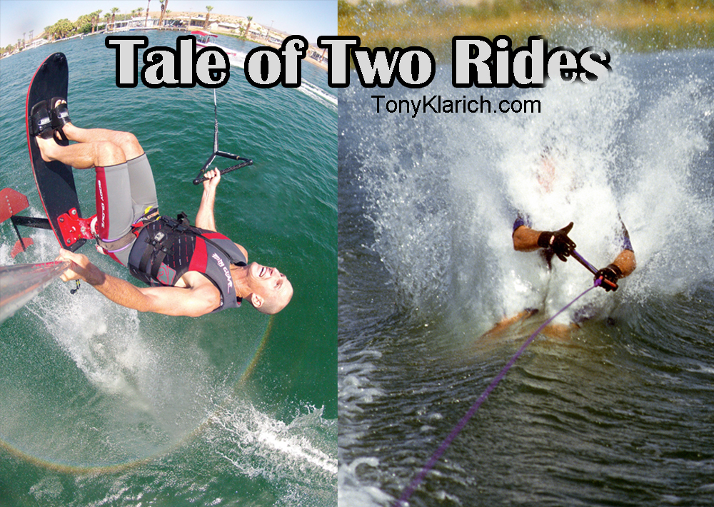 Sit Down Hydrofoiling - Sky Ski, Air Chair. The Best of Rides, the Worst of Rides with Tony Klarich