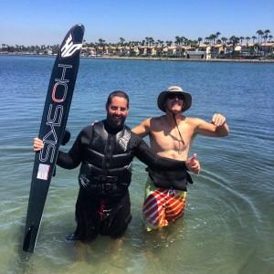 140714 Kevin Klarich HO Freeride Water Ski