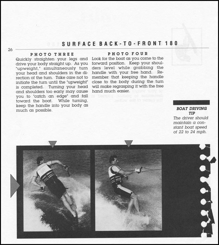 Hot Dog Water Skiing Klarich BF 180 2WR