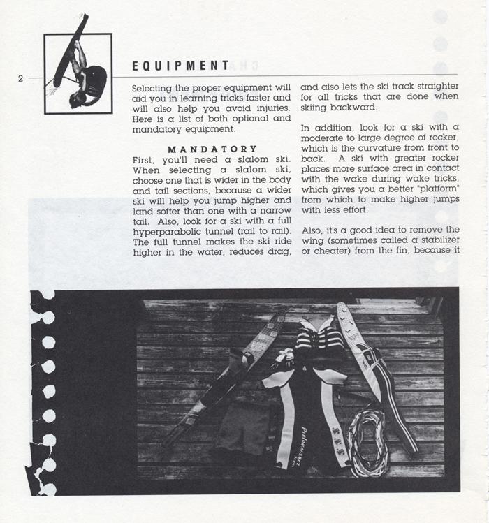 002 Hot Dog Slalom Skiing Book Klarich How To Equipment 700x