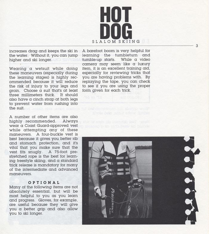 003 Hot Dog Slalom Skiing Book Klarich How To Equipment 700x