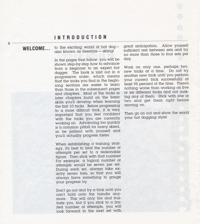 006 Hot Dog Slalom Skiing Book Klarich How To Intro 700x
