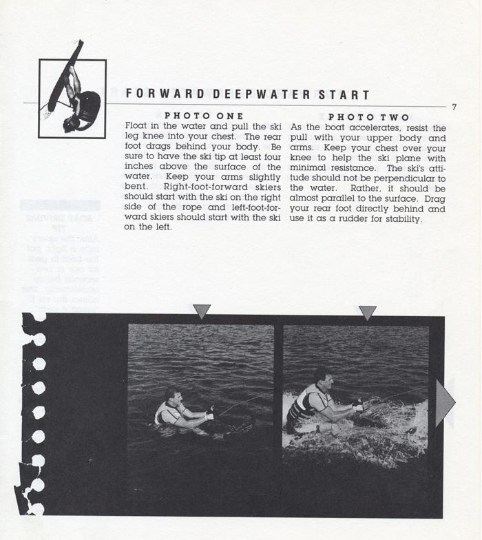 007 Hot Dog Slalom Skiing Book Klarich How To Deepwater Start 700x