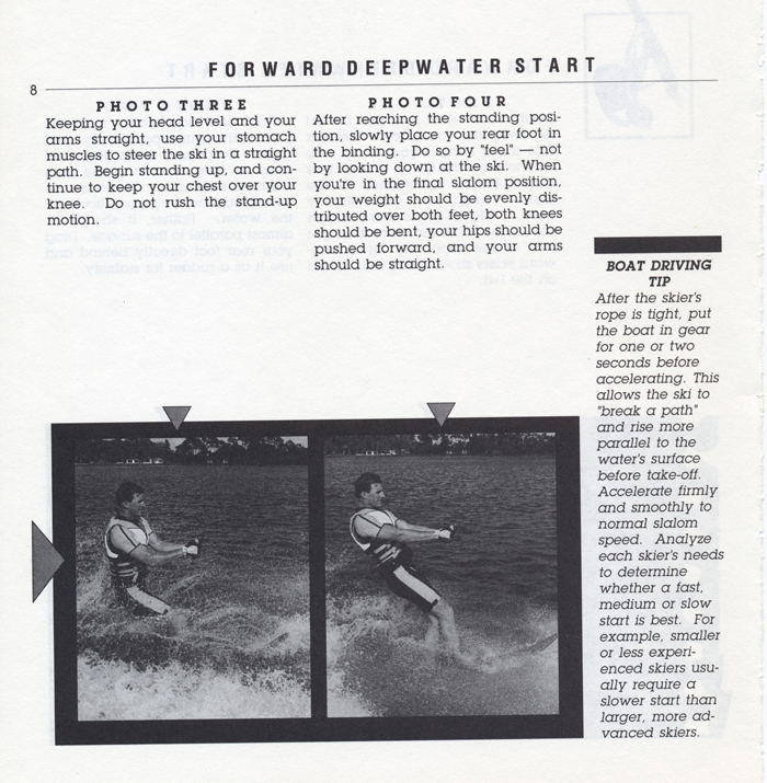 008 Hot Dog Slalom Skiing Book Klarich How To Deepwater Start 700x