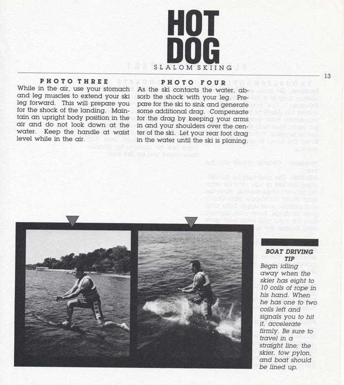013 Hot Dog Slalom Skiing Book Klarich How To Dock Start 700x