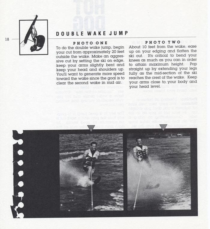 018 Hot Dog Slalom Skiing Book Klarich How To Double Wake Jump 700x