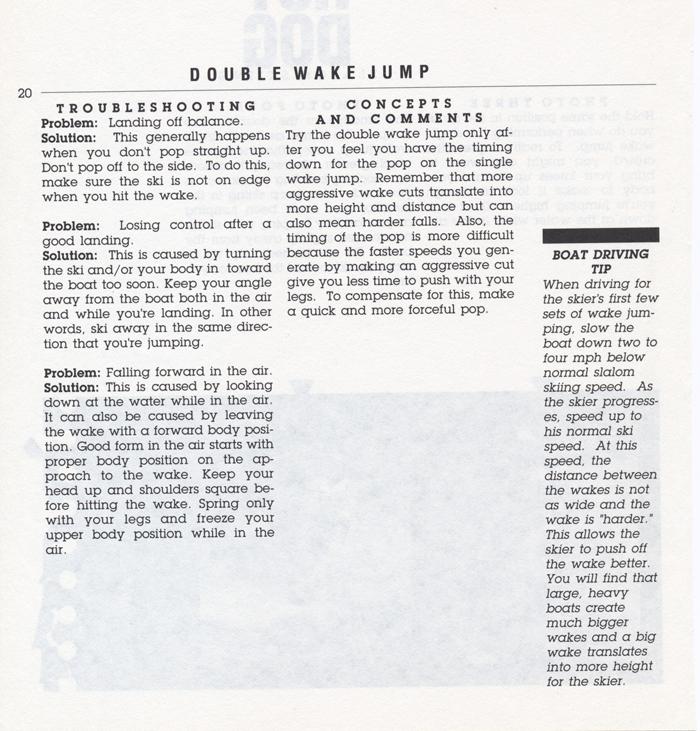 020 Hot Dog Slalom Skiing Book Klarich How To Double Wake Jump 700x