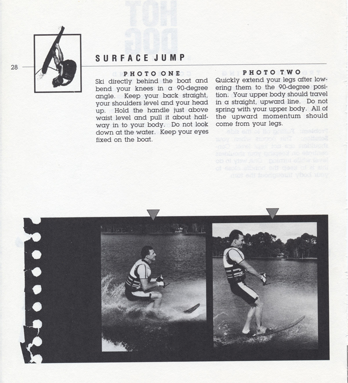 028 Hot Dog Slalom Skiing Book Klarich How To Surface Jump 700x