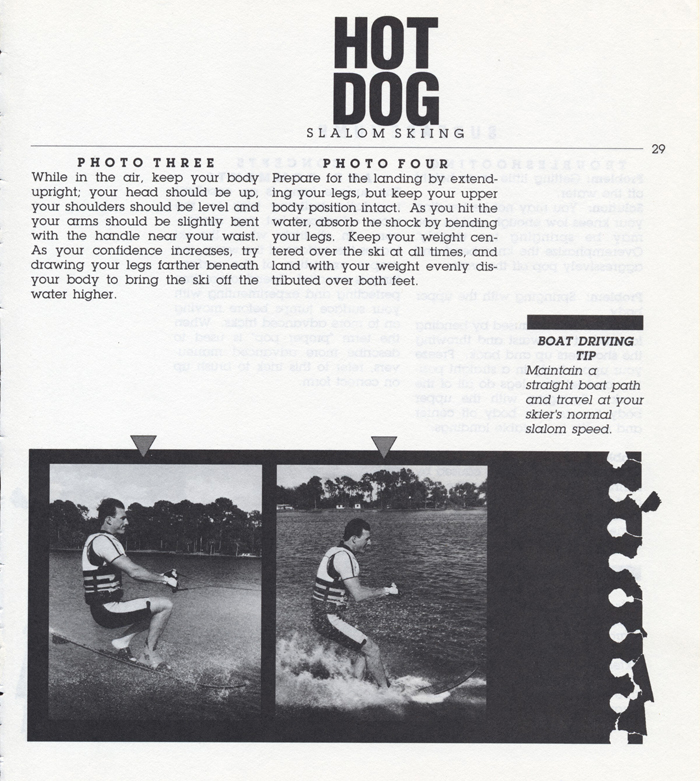 029 Hot Dog Slalom Skiing Book Klarich How To Surface Jump 700x