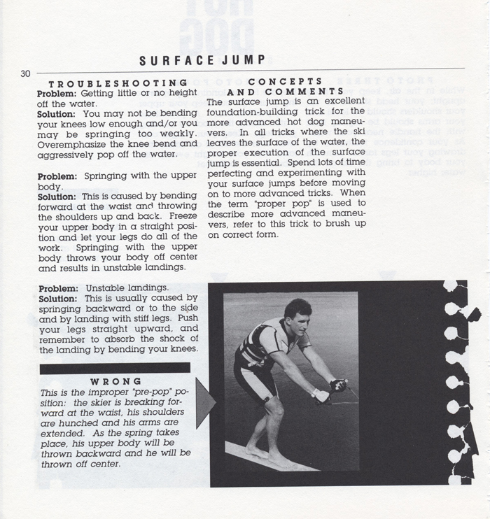 030 Hot Dog Slalom Skiing Book Klarich How To Surface Jump 700x