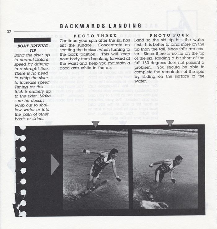 032 Hot Dog Slalom Skiing Book Klarich How To Backwards Landing 700x
