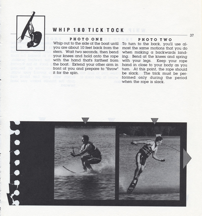 037 Hot Dog Slalom Skiing Book Klarich How To Whip 180 Tick Tock 700x