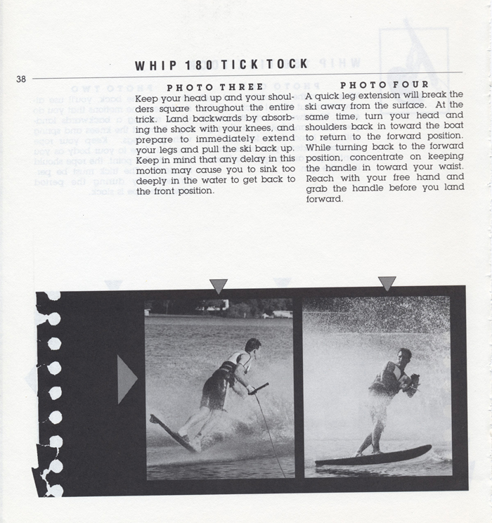 038 Hot Dog Slalom Skiing Book Klarich How To Whip 180 Tick Tock 700x