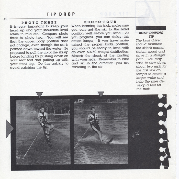 042 Hot Dog Slalom Skiing Book Klarich How To Tip Drop 700x