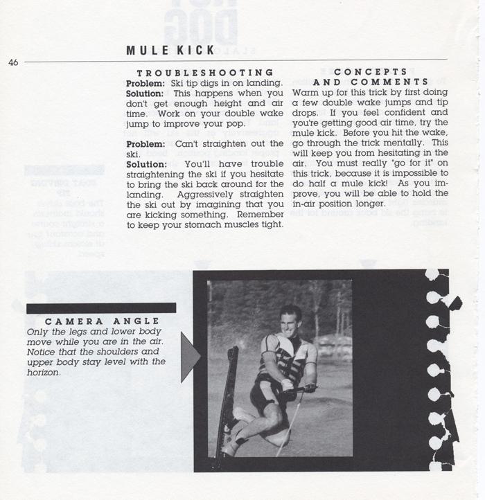046 Hot Dog Slalom Skiing Book Klarich How To Mule Kick 700x