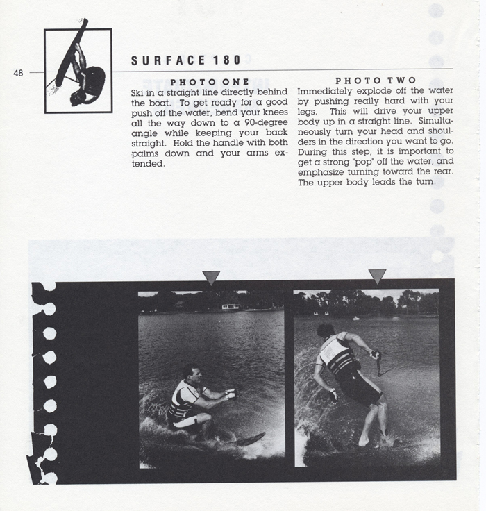 048 Hot Dog Slalom Skiing Book Klarich How To Surface 180 700x