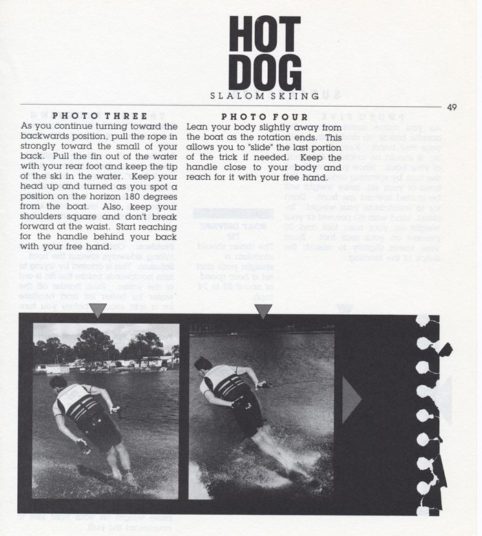 049 Hot Dog Slalom Skiing Book Klarich How To Surface 180 700x