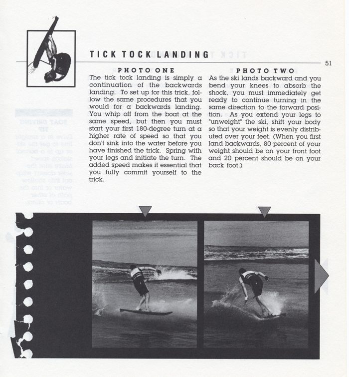 051 Hot Dog Slalom Skiing Book Klarich How To Tick Tock Landing 700x