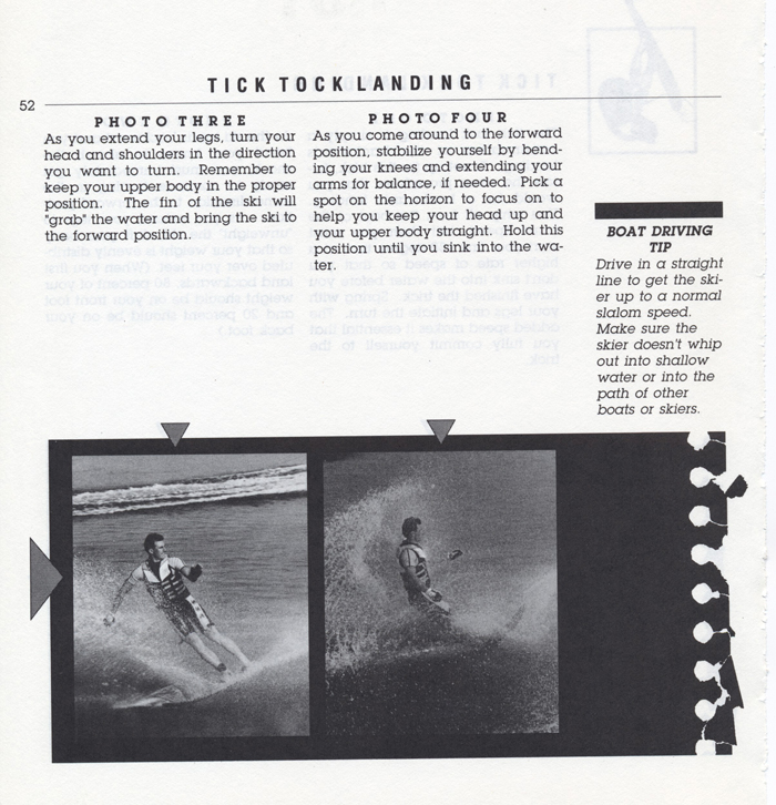 052 Hot Dog Slalom Skiing Book Klarich How To Tick Tock Landing 700x