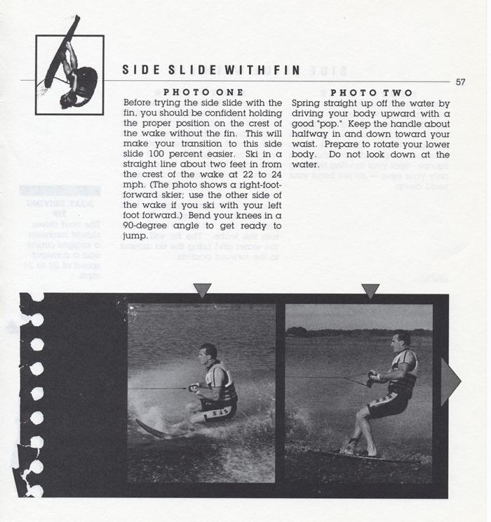 057 Hot Dog Slalom Skiing Book Klarich How To Side Slide 700x