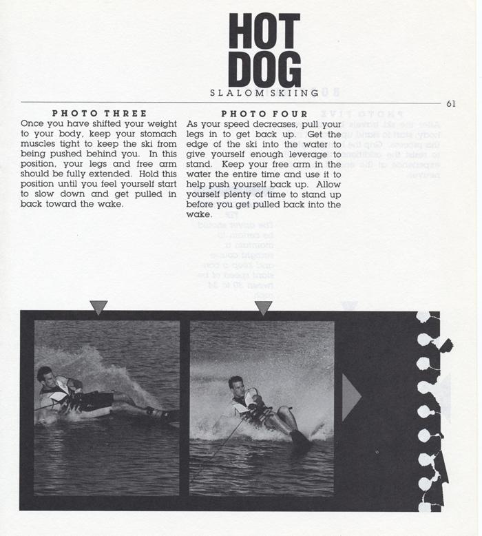 061 Hot Dog Slalom Skiing Book Klarich How To Body Slide 700x