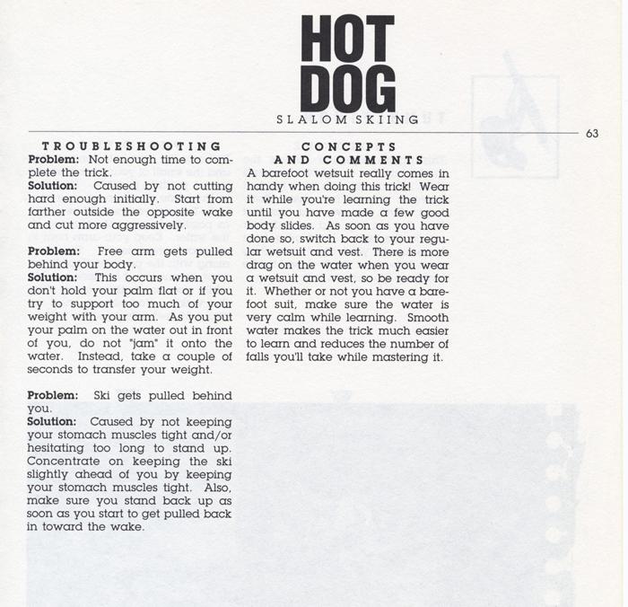 063 Hot Dog Slalom Skiing Book Klarich How To Body Slide 700x