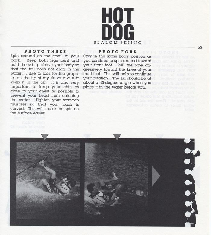 065 Hot Dog Slalom Skiing Book Klarich How To Tumbleturn 700x