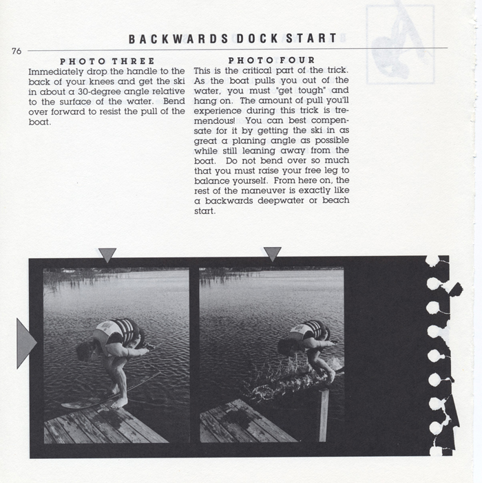 076 Hot Dog Slalom Skiing Book Klarich How To Backwards Dock Start 700x