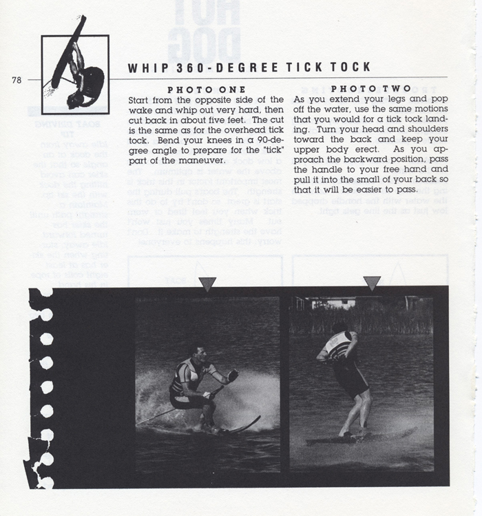 078 Hot Dog Slalom Skiing Book Klarich How To Whip 360 Tick Tock 700x