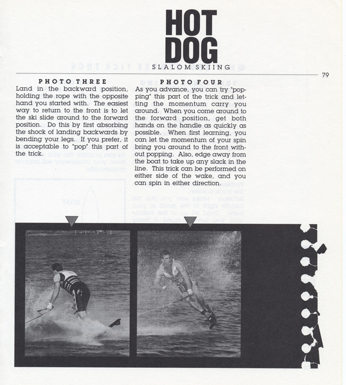 079 Hot Dog Slalom Skiing Book Klarich How To Whip 360 Tick Tock 700x