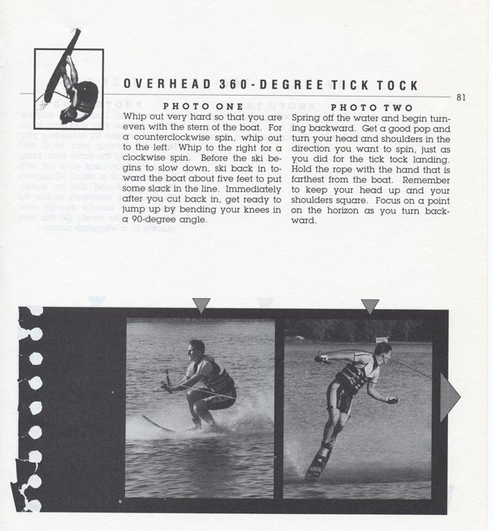 081 Hot Dog Slalom Skiing Book Klarich How To Overhead 360 Tick Tock 700x