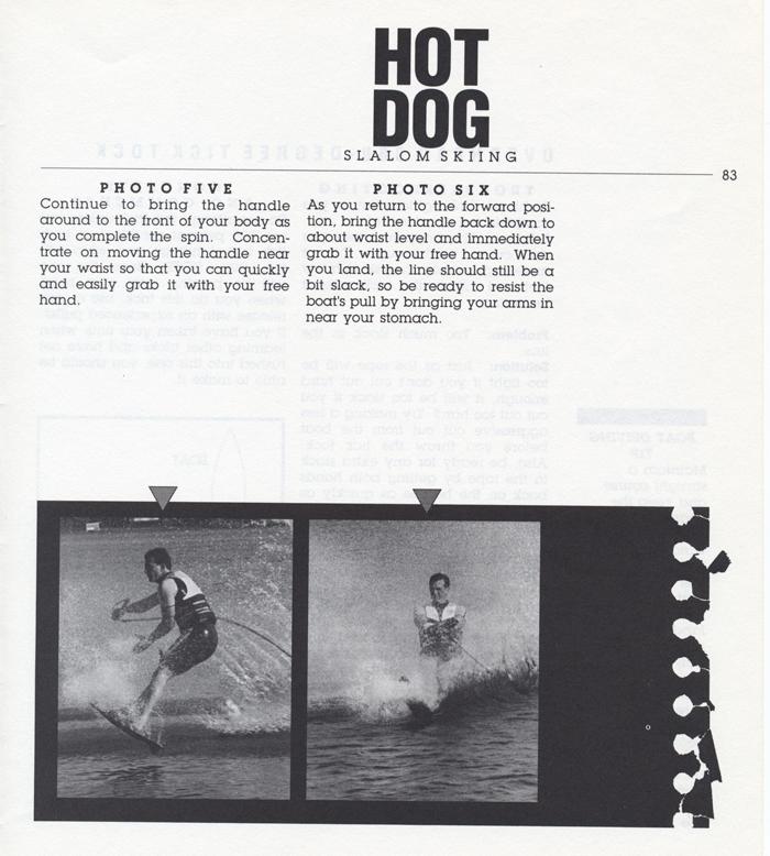 083 Hot Dog Slalom Skiing Book Klarich How To Overhead 360 Tick Tock 700x