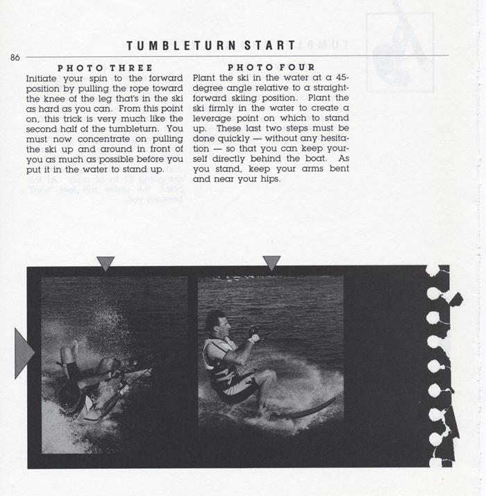 086 Hot Dog Slalom Skiing Book Klarich How To Tumbleturn Start 700x