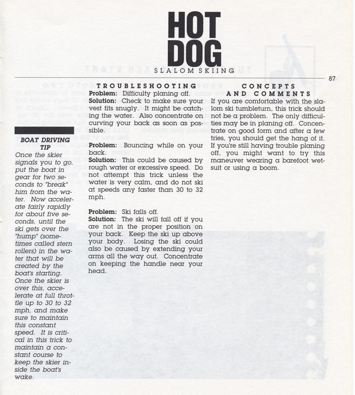 087 Hot Dog Slalom Skiing Book Klarich How To Tumbleturn Start 700x
