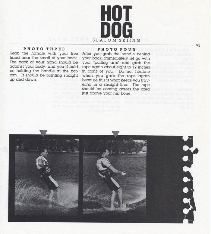 093 Hot Dog Slalom Skiing Book Klarich How To Wrap Rope 700x