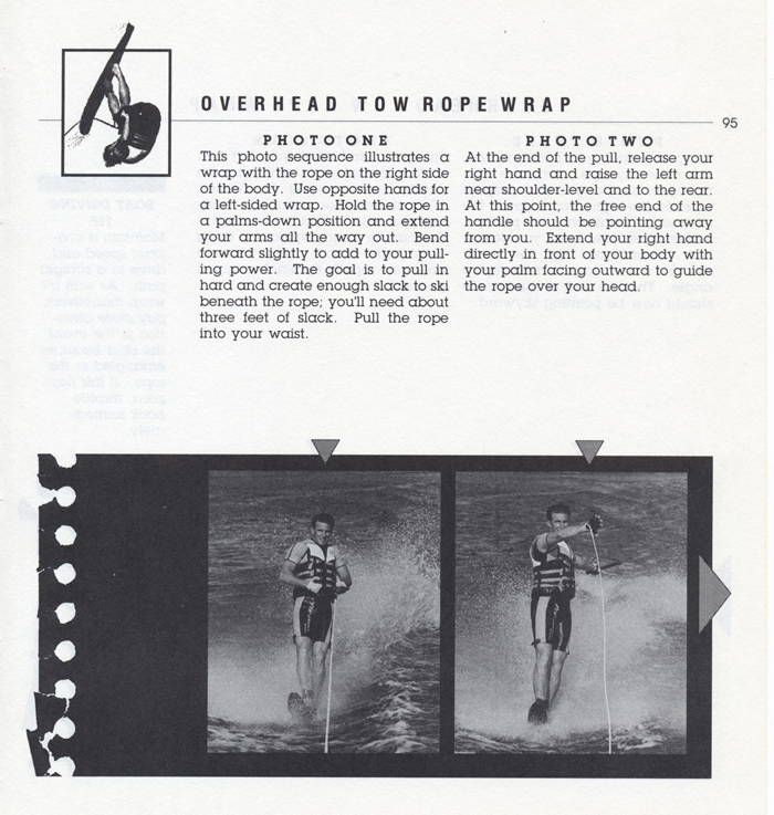 095 Hot Dog Slalom Skiing Book Klarich How To Overhead Wrap Rope 700x