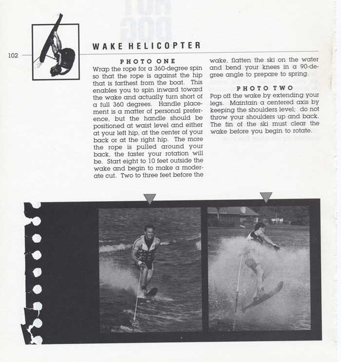 102 Hot Dog Slalom Skiing Book Klarich How To Wake Helicopter 700x