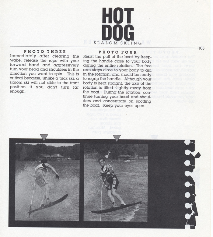 103 Hot Dog Slalom Skiing Book Klarich How To Wake Helicopter 700x