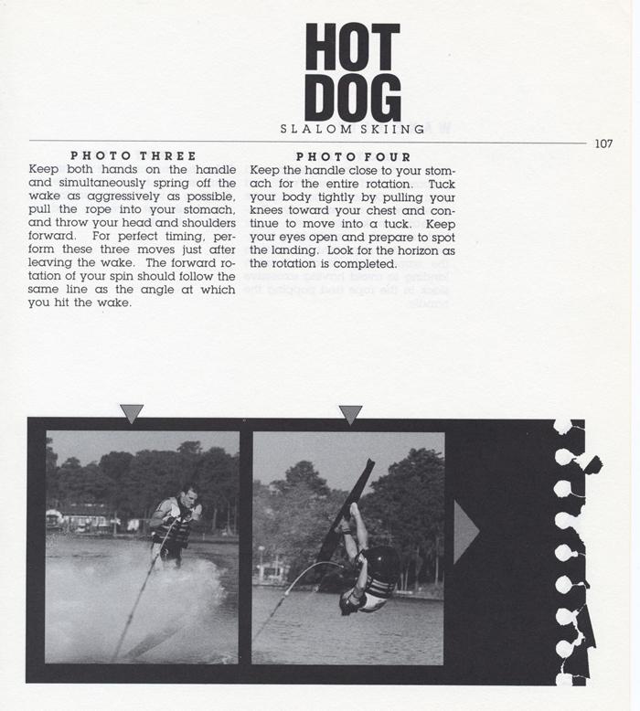 107 Hot Dog Slalom Skiing Book Klarich How To Front Flip 700x